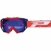 LUNETTE PROGRIP MX 3200 VENON MIRROR ROUGE / BLEU lunettes