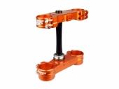 Té de fourche SCAR ORANGE KTM 125/150 EX-C 2014-2020 te fourche