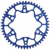 COURONNE ALUMINIUM BLEU MOTO MASTER HUSQVARNA 125 TC 2014-2020 pignon couronne