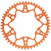 COURONNE ALUMINIUM ORANGE MOTO MASTER KTM 250 SX-F 2013-2020 pignon couronne