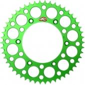 COURONNE RENTHAL ANODISEES VERT KAWASAKI 250 KX -F 2017-2020 pignon couronne