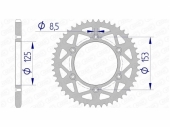 Couronne AFAM  alu ultra-light HONDA 450 CR-F 2017-2020 pignon couronne