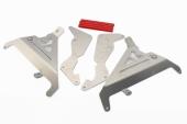 Protection de radiateur AXP entretoises rouges Honda 250 CR-F 2020-2021 protections radiateur