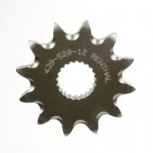Pignon RENTHAL acier anti-boue 12 DENTS HONDA 250 CR-F 2014-2017 pignon couronne