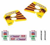 KIT DECO TECNOSEL REPLICA TEAM SUZUKI 1993 125/250 RM 1993-1995 kit deco vintage