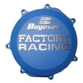 Couvercle de carter d'embrayage Boyesen BLEU KTM 250 SX-F 2016-2020 couvercle d'embrayage boyesen
