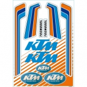 STICKERS SHEET KTM VINTAGE kit deco vintage