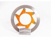 Disque de frein BERINGER KT5LGOMMI Aeronal inox rond flottant ORANGE KTM 85 SX 2013-2020 freinage beringer