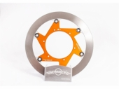 Disque de frein BERINGER KT6LGOMMI Aeronal inox rond flottant ORANGE KTM 125/250 SX 2016-2020 freinage beringer
