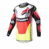 Maillot Cross ALPINESTARS FLUID CHASER MENTHE/NOIR/BLANC 2021 maillots pantalons