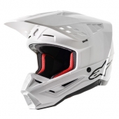 CASQUE ALPINESTARS SUPERTECH M5 BLANC casques