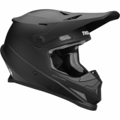 CASQUE CROSS THOR SECTOR SOLID NOIR 2021 casques