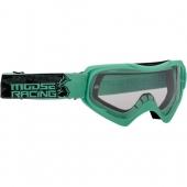 LUNETTE MOSSE RACING QUALIFER CYAN/NOIR 2021 lunettes