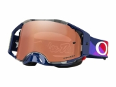 LUNETTE CROSS OAKLEY Airbrake MX Troy Lee Designs Jet Pattern écran Prizm MX lunettes