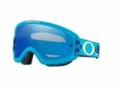 LUNETTE CROSS OAKLEY O Frame 2.0 Pro XS MX Troy Lee Design Checkerboard Blue écran Black Ice Iridium lunettes