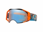LUNETTE CROSS OAKLEY Airbrake MX Camo Vine Night Orange/Blue écran Prizm MX Sapphire Iridium lunettes