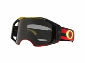 LUNETTE CROSS OAKLEY Airbrake MX Frequency Red/Yellow écran Dark Grey lunettes