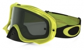 LUNETTE CROSS OAKLEY  Crowbar MX Heritage Racer Team Bright VERT écran Dark lunettes