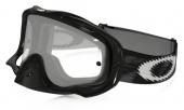 LUNETTE CROSS OAKLEY Crowbar MX Jet NOIRE Speed écran transparent lunettes