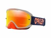 LUNETTE CROSS OAKLEY O Frame 2.0 Pro MX Factory Pilot RB écran Fire Iridium lunettes