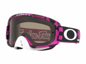 LUNETTE CROSS OAKLEY O Frame 2.0 MX Troy Lee Designs Race Shop ROSE écran Dark Grey lunettes