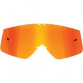 Ecran de rechange THOR SNIPER /COMBAT/CONQUER IRIDIUM ORANGE accessoires lunettes