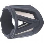 Protection de silencieux POLISPORT 2 TEMPS GRISE accesoires echappements