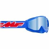 LUNETTE CROSS FMF POWERBOMB ROCKET BLEU ECRAN MIROIR lunettes