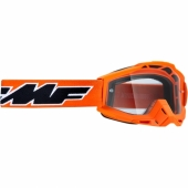 LUNETTE CROSS FMF POWERBOMB ROCKET ORANGE ECRAN CLAIR lunettes