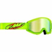 LUNETTE CROSS FMF POWERCORE CORE JAUNE ECRAN MIROIR lunettes