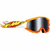 LUNETTE CROSS FMF POWERCORE ASSAULT GRISE ECRAN MIROIR lunettes