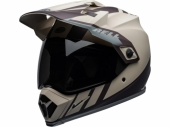 Casque BELL MX-9 Adventure Mips Dash SABLE MAT/MARRON/GRIS casque quad