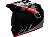 Casque BELL MX-9 Adventure Mips Dash NOIR/BLANC/ORANGE casque quad