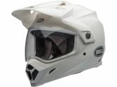 Casque BELL MX-9 Adventure Mips BLANC BRILLANT casque quad
