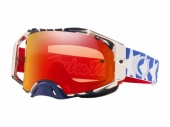 LUNETTE CROSS OAKLEY Airbrake MX Troy Lee Design Patriot lunettes