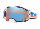 LUNETTE CROSS OAKLEY  Airbrake MX Troy Lee Design Premix Navy Orange lunettes