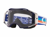 LUNETTE CROSS OAKLEY Airbrake MTB Troy Lee Design Patriob RWB écran Black Ice Iridium lunettes