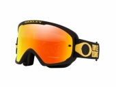 LUNETTE CROSS OAKLEY O Frame 2.0 Pro MTB Troy Lee Design Patriot Pinstripe Yellow écran Fire Iridium lunettes