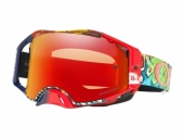 LUNETTE CROSS OAKLEY  Airbrake MX Jeffrey Herlings Signature Series Graffito écran Prizm MX Torch Iridium lunettes