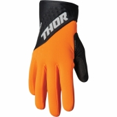 GANTS THOR SPECTRUM COLD WEATHER ORANGE/NOIR 2022 gants