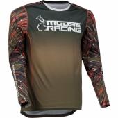 MAILLOT CROSS MOOSE RACING AGROID NAVY/ORANGE 2022 maillots pantalons