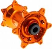 ROUE AVANT 21 MOYEUX HANN WEELS ORANGE CERCLE EXEL ARGENT KTM SX/SX-F 125 et + 2003-2022 roues completes