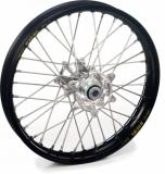ROUE AVANT 21 MOYEUX HANN WEELS ARGENT CERCLE EXEL NOIR KTM SX/SX-F 125 et + 2003-2022 roues completes