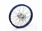 ROUE AVANT 21 MOYEUX HANN WEELS ARGENT CERCLE EXEL BLEU KTM SX/SX-F 125 et + 2003-2022 roues completes