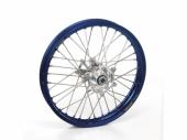 ROUE ARRIERE 19 MOYEUX HANN WEELS ARGENT CERCLE EXEL BLEU KTM SX/SX-F 125 et + 1995-2022 roues completes