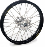 ROUE ARRIERE 19 MOYEUX HANN WEELS ARGENT CERCLE EXEL NOIR HONDA 450 CR-F 2002-2022 roues completes