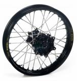 ROUE ARRIERE 19 MOYEUX HANN WEELS NOIR CERCLE EXEL NOIR HONDA 250 CR-F 2004-2022 roues completes
