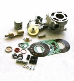 kits cylindre piston athena livre avec culasse DT125R  TDR kit cylindre piston athena