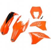 kits plastique ufo KTM 400 EXC-R 2009-2011 kit plastiques ufo