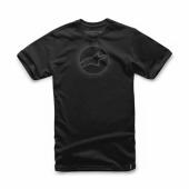 T-SHIRT ALPINESTARS AHEAD NOIR tee shirt
